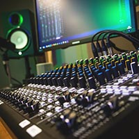 Mixing and mastering multi-track project
